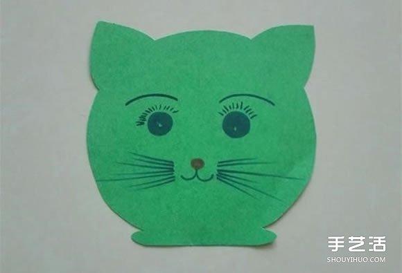 幼儿园小猫头饰图片 简单卡纸小猫帽子的做法 -  www.shouyihuo.com