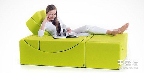 【 產品設計 】百變積木沙發設計 任你調整到舒服的角度| 沙發設計 |