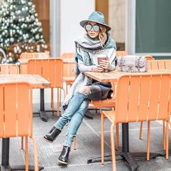 不同脸型女生驾驭冬季帽款的小妙招