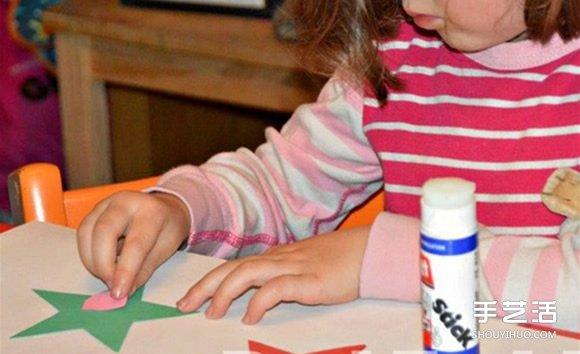 幼儿手工制作星星方法 简单卡纸星星的做法 -  www.shouyihuo.com
