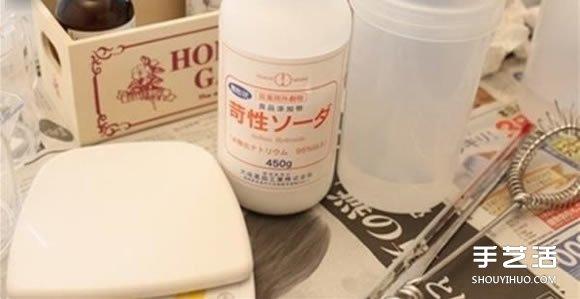 自制鸡蛋造型手工皂 彩色鸡蛋手工皂的做法 -  www.shouyihuo.com