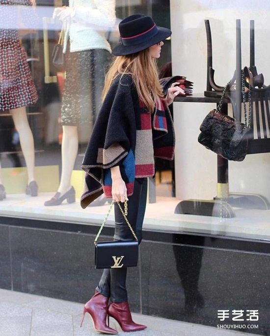 不同臉型女生駕馭冬季帽款的小妙招