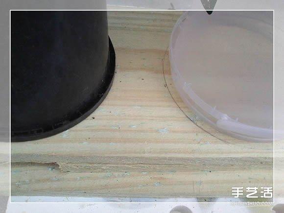 木质花架制作方法图解 自制多层花盆架子做法 - www.shouyihuo.com
