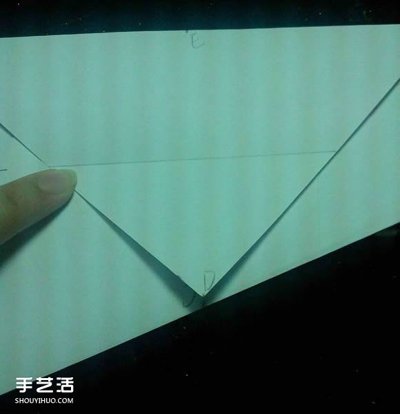 手工摺紙漂亮盒子圖解 帶紙鶴包裝盒子折法
