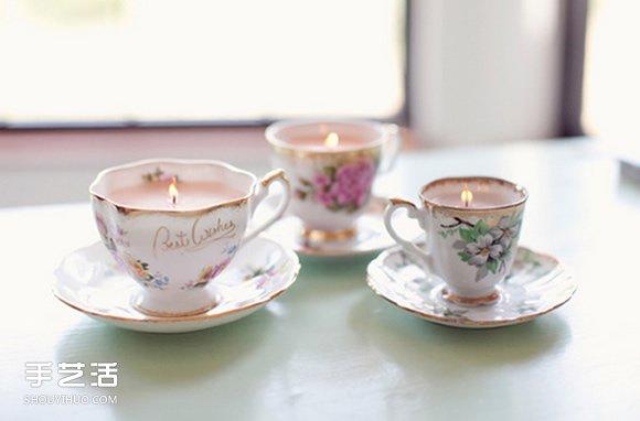 唯美浪漫的茶杯蜡烛DIY 点燃收获一杯温暖烛火 -  www.shouyihuo.com