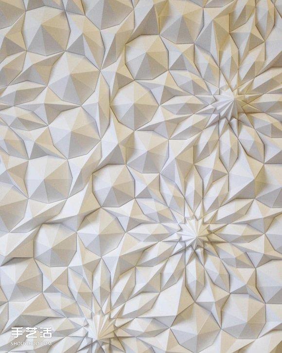 立体几何纸雕作品欣赏 挑战纸艺术的极限! -  www.shouyihuo.com