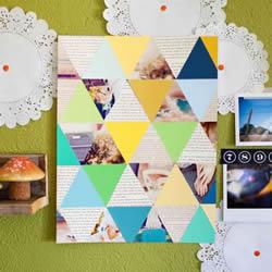 拼图卡片的制作方法图解 手工DIY装饰卡片