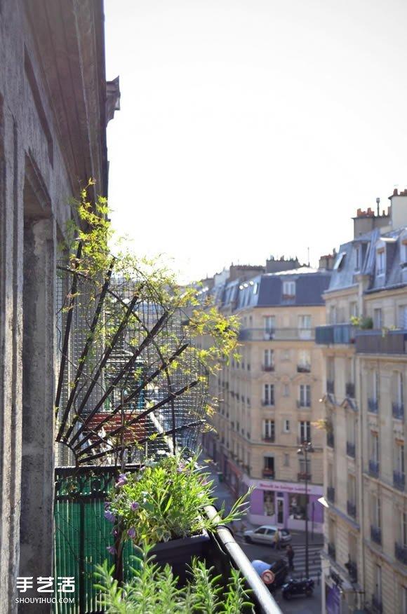 參考巴黎小公寓 打造出可愛的法式居家風格