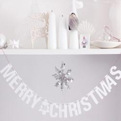 圣诞节英文装饰文字手工DIY制作方法图解