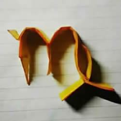 �女座符面���@一�μ�的折法�D解 折�室女座符�的方法