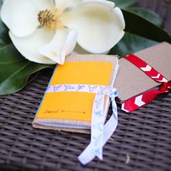 旅行日记本制作方法 手工精致日记本礼物