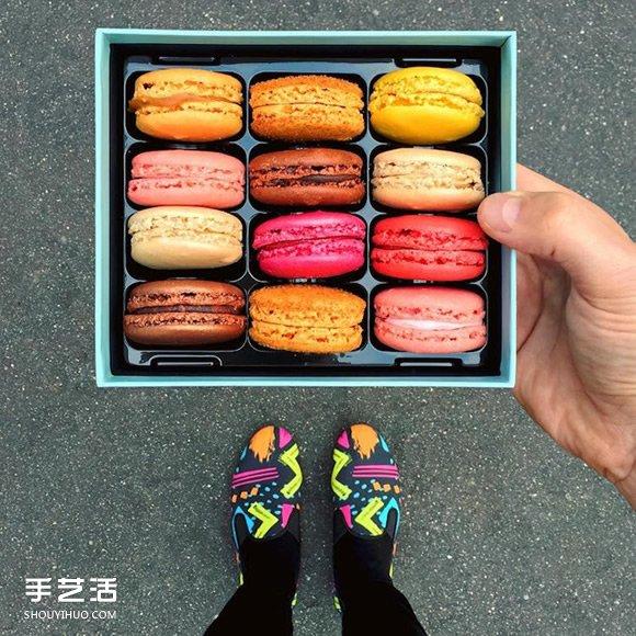鞋子点心的完美搭配!巴黎甜点师傅的时尚穿搭