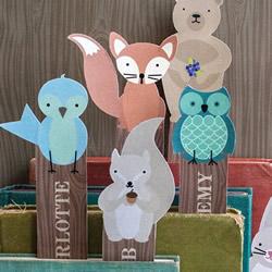 卡纸书签制作方法图片 可爱小动物书签怎