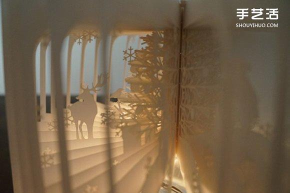 360度立体镂空书作品 精美镂空书本图片欣赏 -  www.shouyihuo.com