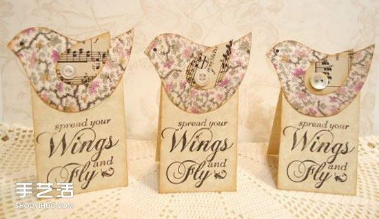 精美礼品包装标签图片 手工礼物盒标签DIY -  www.shouyihuo.com