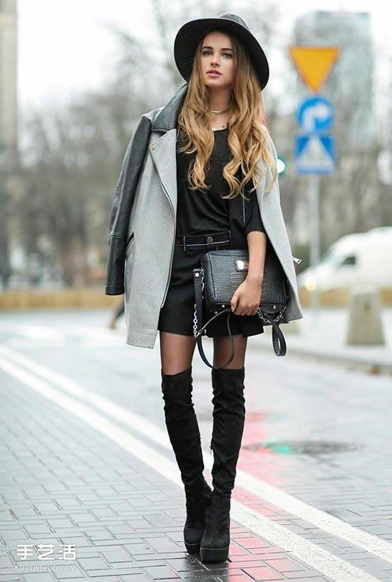 無法抗拒:讓秋冬靴子更加迷人的聰明搭配法則