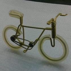 铜丝自行车制作图解 手工制作铜线自行车