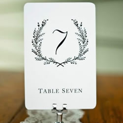 创意婚礼桌牌设计图片 手工婚庆桌签卡欣