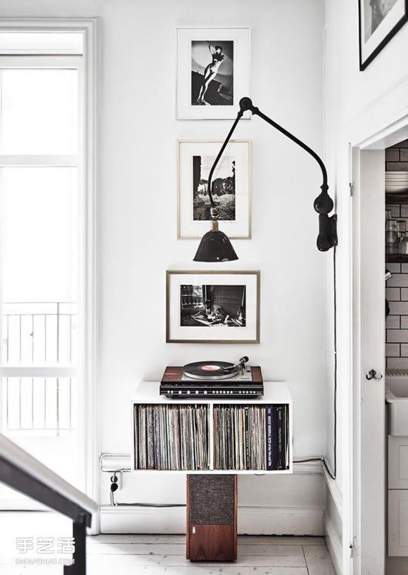 攝影師的北歐老宅改建 以深色木質帶出故事綺想