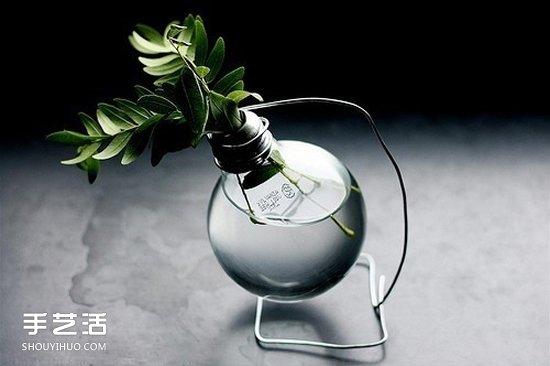 創意燈泡DIY手工藝品 廢燈泡手工製作圖片