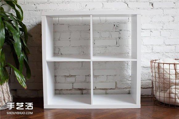 旧书柜改造方法 简单4个步骤换来时尚新柜子