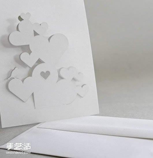 情人节立体贺卡制作图片 立体情人节贺卡模板 -  www.shouyihuo.com