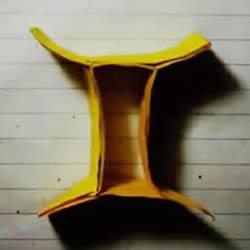 折纸双子座天文符号图解 手工双子座符号