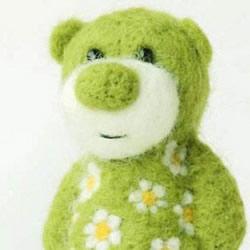 治愈系羊毛毡作品图片 最萌羊毛毡手作欣赏