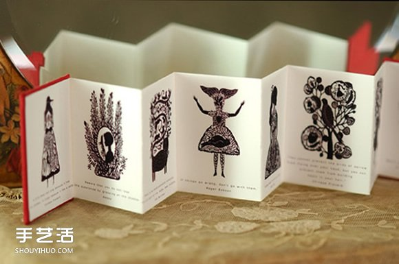 Elsa Mora剪紙作品欣賞 細膩靜謐的童話世界