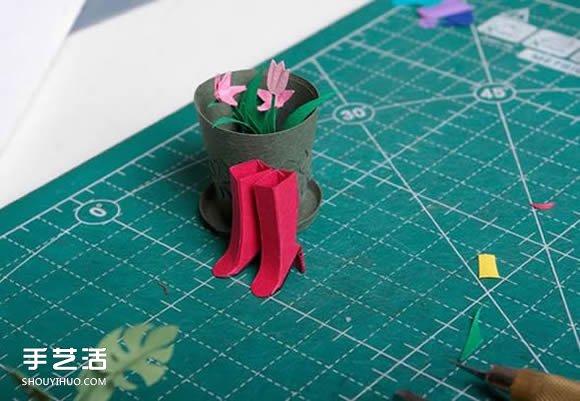 让人惊叹的纸模型图片 惟妙惟肖的纸艺作品 -  www.shouyihuo.com