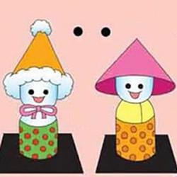 幼儿棉花娃娃的做法 手工制作棉花娃娃人