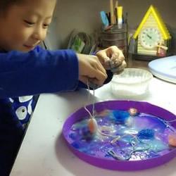 科学小实验钓冰块 用绳子钓起冰块的方法