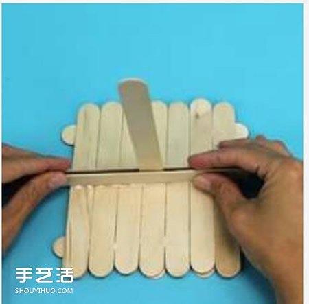 冰棍棒手工制作小帆船 幼儿冰棍棒小船的做法 -  www.shouyihuo.com