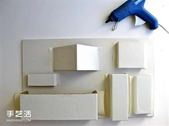 紙盒製作收納架的教程 紙板收納架手工製作