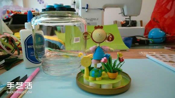 衍纸小龙都娱乐品教程:小女孩的美丽私家花园 -  www.shouyihuo.com