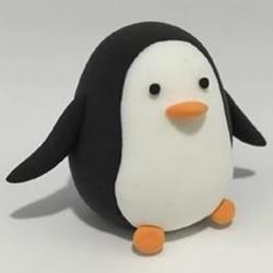 超轻粘土企鹅教程 可爱小企鹅用粘土做图解