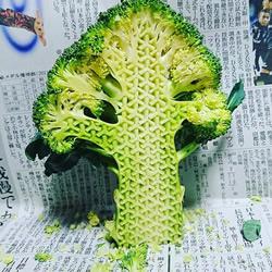 食物雕刻家Gaku  将平凡的蔬果雕刻成艺术品
