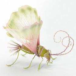 迷幻精灵昆虫雕塑作品 彷彿只在梦里会出现