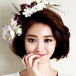 知性与可爱:春天想剪的日韩女生的清新短发
