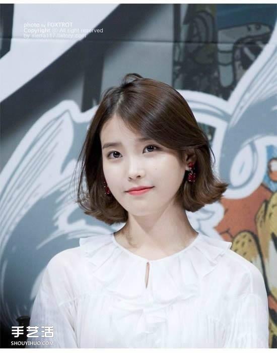 知性與可愛:春天想剪的日韓女生的清新短髮