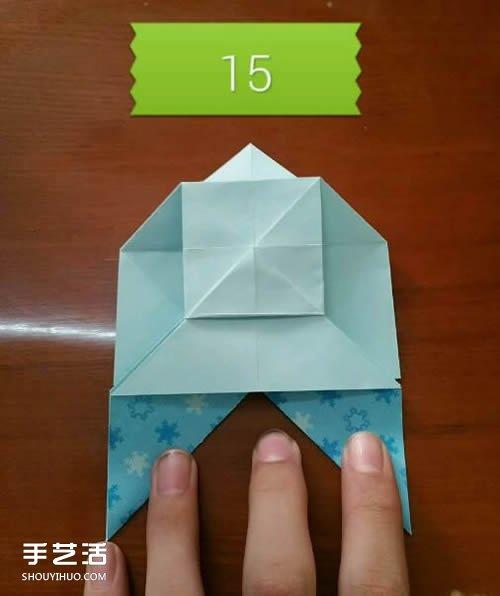 蝴蝶飞爱心的折法图解 带蝴蝶心形的折纸步骤 -  www.shouyihuo.com