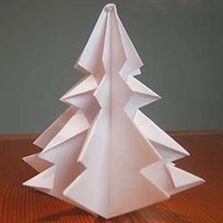 立体圣诞树怎么折图解 儿童圣诞树折纸教程