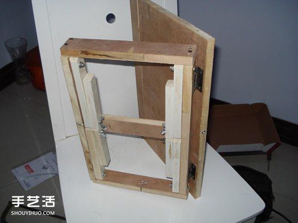 自製床上電腦桌的方法 DIY可摺疊床上電腦桌