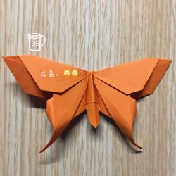 手工蝴蝶折纸步骤图解 折蝴蝶的方法详细