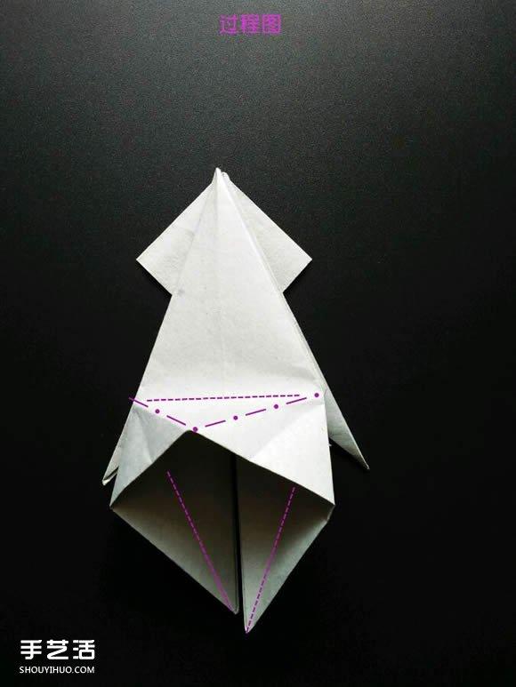 动物身上的花纹_超复杂折纸鲨鱼图解 立体鲨鱼的折法详细步骤(4)_手艺活网