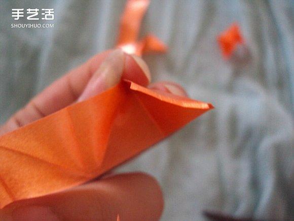彩带风铃制作图解:星星/丝星蝶/圆环圈/灯笼 -  www.shouyihuo.com