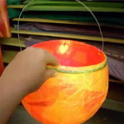 儿童简易花灯制作方法 幼儿园自制花灯的做法