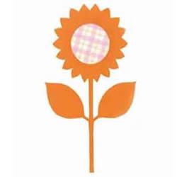 幼儿园剪纸向日葵教程 简单向日葵的剪纸方法