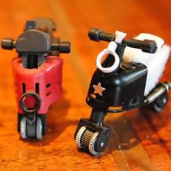怎么用打火机做摩托车 摩托车模型制作方法
