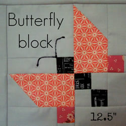 手工拼布蝴蝶图案教程 拼布制作蝴蝶的方法